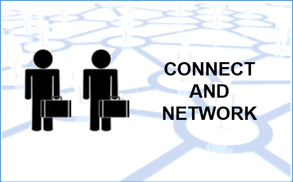 connect and network